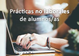 Prácticas no laborales de alumnos/as del curso