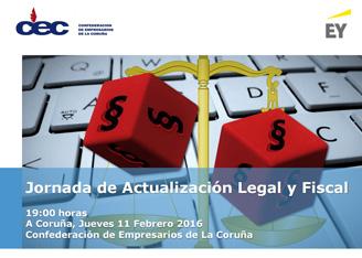 Jornada de Actualización Legal y Fiscal