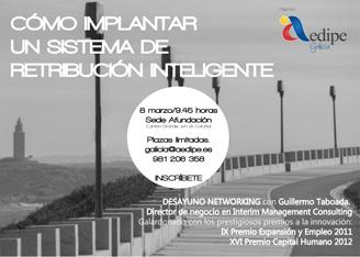 Desayunos Networking – AEDIPE Galicia