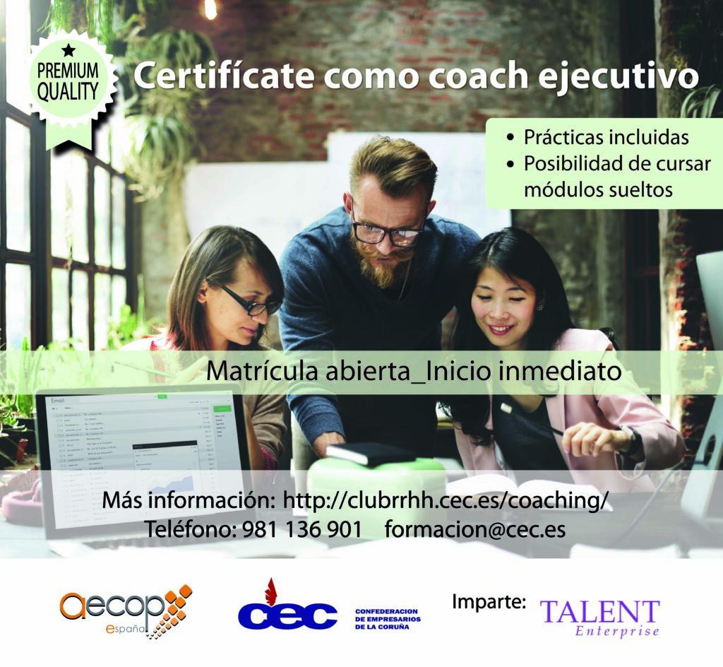 curso coaching ejecutivo AECOP