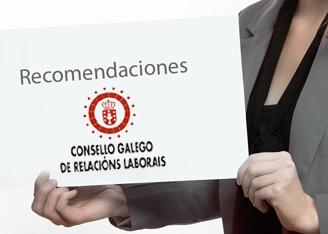 Recomendaciones del Consello Galego de Relacións Laboráis para la Negociación Colectiva Galega en el año 2016