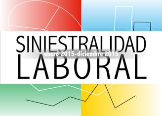 Siniestralidad laboral 2015