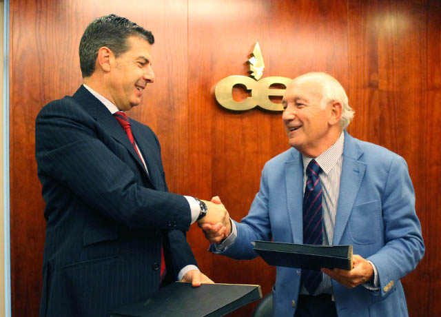 Convenio de Colaboración CEC y el Colegio de Economistas de A Coruña