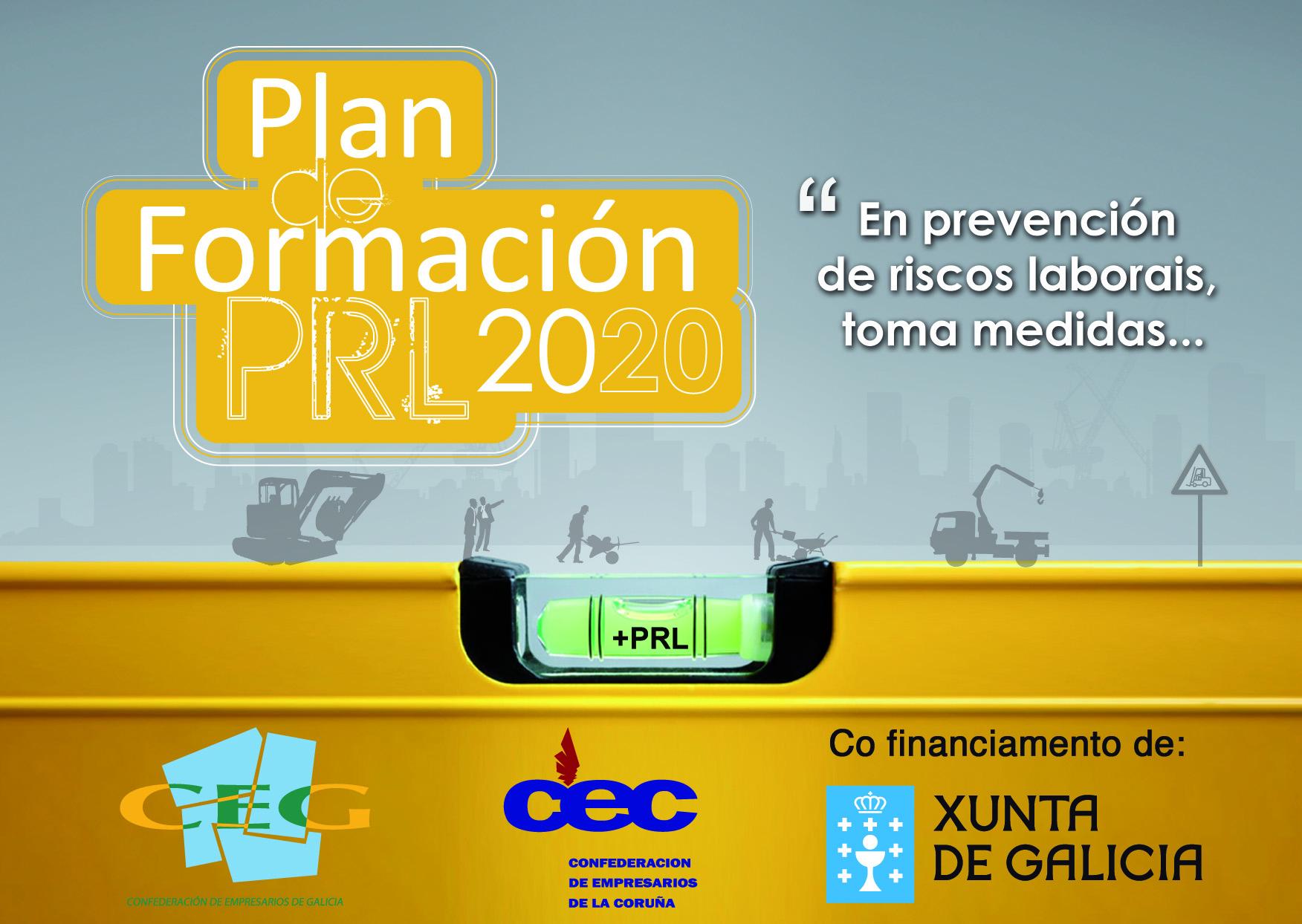 Plan formación PRL 2020